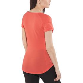 Salewa Pedroc Delta Dry - T-shirt manches courtes Femme - rouge
